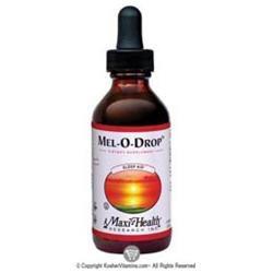 Liquid Melatonin Drops 2 Oz by Maxi Health Kosher Vitamins (1 Each)