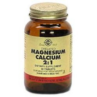 Solgar Chelated Magnesium Calcium 2:1 Tablets - 90 Tablets