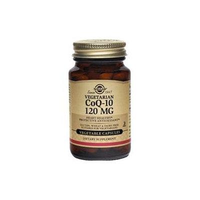 Solgar - CoQ-10 120 mg. - 60 Vegetarian Capsules