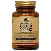Solgar Coenzyme Q-10 200 Mg. - 60 Vegetable Capsules