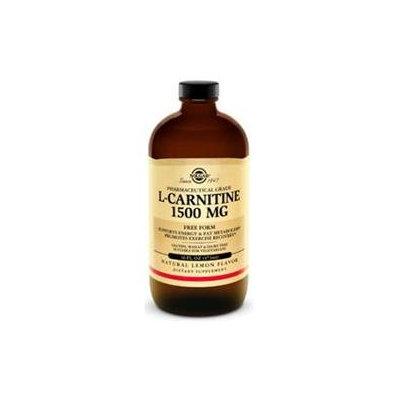 Solgar L-Carnitine Liquid Natural Lemon - 1500 mg - 16 fl oz
