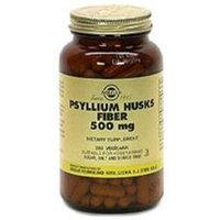 Solgar - Psyllium Husks Fiber 500 mg. - 200 Vegetarian Capsules