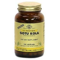 Solgar Gotu Kola Aerial Extract - 100 Vegetable Capsules