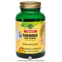 Solgar - Turmeric Root Extract Standardized - 60 Vegetarian Capsules