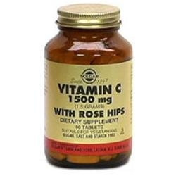 Solgar Vitamin C with Rose Hips - 1500 mg - 180 Tablets