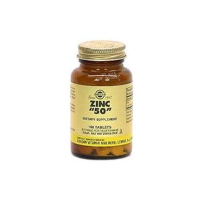 Solgar - Zinc 50 mg. - 100 Tablets