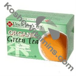 Uncle Lees Tea Organic Green Tea - 20 Bags