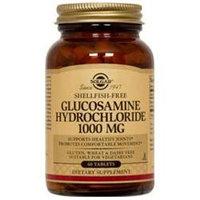 Solgar Glucosamine Hydrochloride 1000 Mg. (Shellfish Free) - 60 Tablets