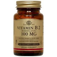 Solgar Vitamin B2 Riboflavin - 100 mg - 100 Vegetable Capsules