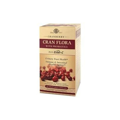 Solgar CRAN FLORA with Probiotics Plus Ester-C