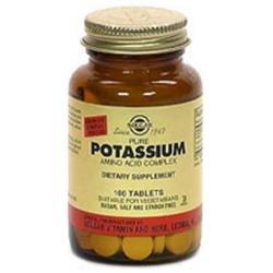 Solgar - Potassium Complex Amino Acid Complex - 100 Tablets