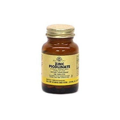 Solgar - Zinc Picolinate 22 mg. - 100 Tablets