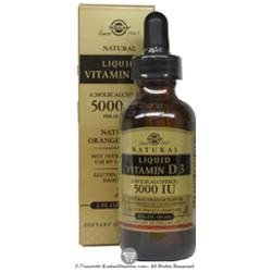 Solgar Liquid Vitamin D3 5000 IU Orange Flavor - 2 Fl Oz
