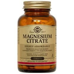 Solgar - Magnesium Citrate - 60 Tablets