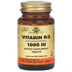 Solgar - Vitamin D3 Cholecalciferol 1000 IU - 180 Tablets