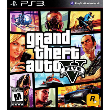 Rockstar Games Grand Theft Auto V PRE-OWNED (PlayStation 3)