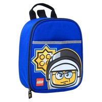 LEGO Police Minifigure Vertical Lunch Blue - LEGO Travel Coolers