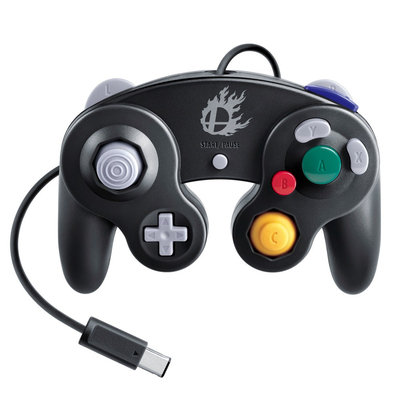 Nintendo - Super Smash Bros. Edition Gamecube Controller For Wii U