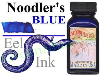 Noodler's Ink Fountain Pen Bottled Ink, 3oz - American Eel Rattler Red