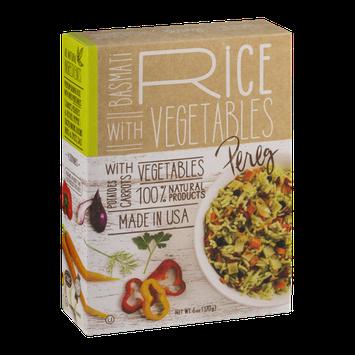 Pereg Basmati Rice With Vegetables