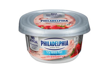 Philadelphia 1/3 Less Fat Strawberry Cream Cheese Spread