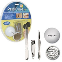 Trademark Global PediCare Pro Foot File System with Buffing Pads (Set of 4)