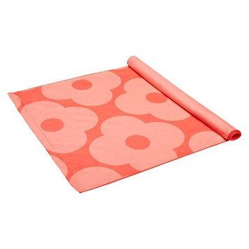 Orla Kiely by Gaiam Giant Flower Spot Rose Dual- Grip Yoga Towel