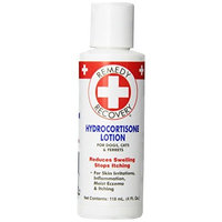 Cardinal Laboratories Remedy + Recovery Hydrocortisone Lotion .05% for Dogs, 4-Ounce