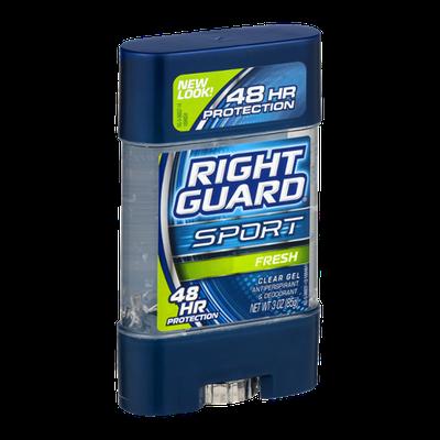 Right Guard Sport Clear Gel Antiperspirant & Deodorant Fresh
