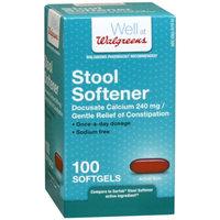 Walgreens Stool Softener Softgels