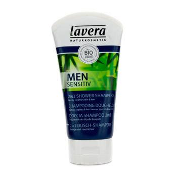 Lavera Men Sensitiv Vitalising 2 in 1 Shower Shampoo 150ml/5oz