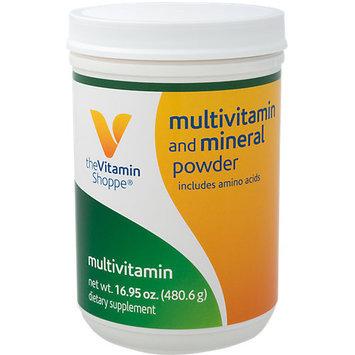 Vitamin Shoppe Multi Vitamin & Mineral Powder - 16.95 Ounces Powder - Multivitamins with Iron
