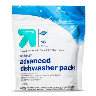 up & up Dishwasher Detergent - Fresh Scent - 10.1 oz
