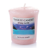 Yankee Candle simply home Bermuda Beach Votive Candle (Pink)