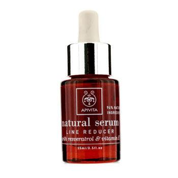Apivita Natural Serum - Line Reducer with Resveratrol & Vitamin E 15ml/0.5oz