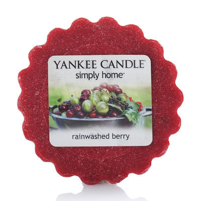 Yankee Candle simply home Rainwashed Berry Tart (Red)