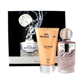 Rochas Eau Sensuelle Coffret: Eau De Toilette Spray 100ml/3.3oz + Sensual Body Lotion 150ml/5oz - 2pcs