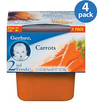 Gerber 2nd Foods Baby Foods Carrots
