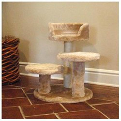 Majestic Pet Products, Inc. Majestic Pet Casita 27-Inch Fur Cat Tree