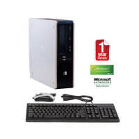 Joy Systems, Inc HP DC5800 Refurbished Small Form Factor PC DC-2.0/2GB/80GB/DVD-CDRW/W7HP