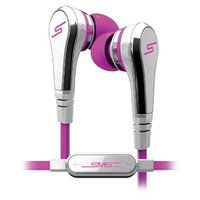 SMS Audio Street by 50 Wired In-Ear Earbuds - Pink (SMSEBPNK)