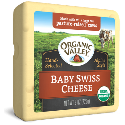 Organic Valley® Baby Swiss