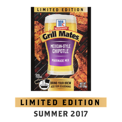 McCormick® Grill Mates® Mexican-Style Chipotle Marinade Mix