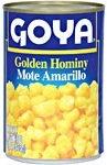 Goya Golden Hominy Corn