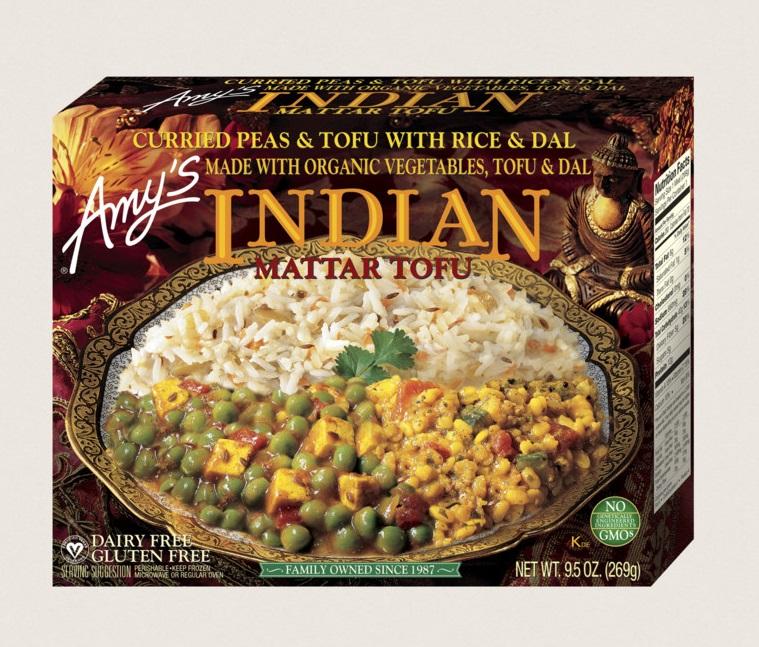Amy's Kitchen Indian Mattar Tofu