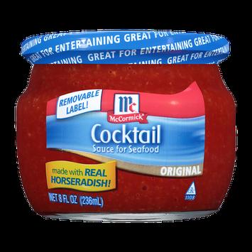 McCormick® Golden Dipt® Seafood Cocktail Sauce Serving Jar