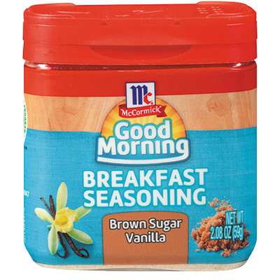McCormick® Good Morning Brown Sugar Vanilla Breakfast Seasoning