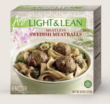 Amy's Kitchen Meatless Swedish Meatballs - Light & Lean