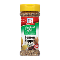McCormick® California Style Lemon Pepper with Garlic & Onion