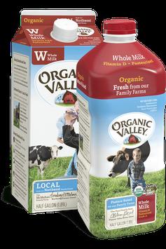 Organic Valley® Whole Milk, Pasteurized, Half Gallon